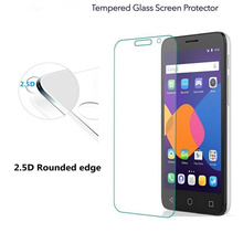 "Tempered Glass Premium Screen Protector For Alcatel One Touch Pop 3 5025D 5015D Pop 4 4S 4+ PLUS Idol3 6045 5.5"" 6039 4.7"" C3 C5"