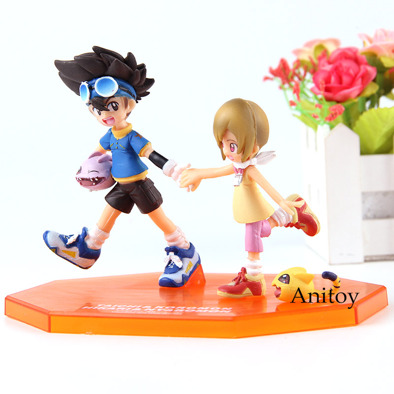 Anime Figure Toy Digimon Adventure Yagami Taichi Figurine Statues 10cm no box