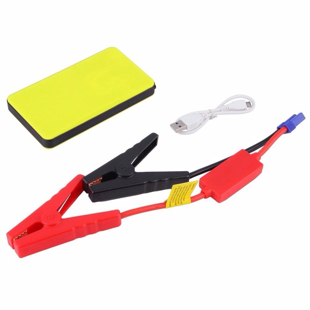 Car Jump Starter 20000mAh Power Bank Mini Emergency Car Charger Starting Device Battery Booster Starter For Car Phone