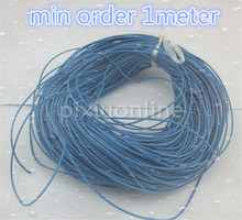 1meter/bag K974 1mm Blue Copper Conductor Wire 7lines Hinge Insulated Wire(China)
