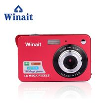 "Winait 2.7"" TFT LCD Display Mini Camera Digital HD 1280*720 Max 18MP Cheap Camera Fixed Focus SD Card Slot Up To 32GB(China)"