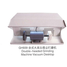 Polishing Machine With Dust Collecter For Jewelry Desktop Double Cloth Wheel Grinding Tools(China)