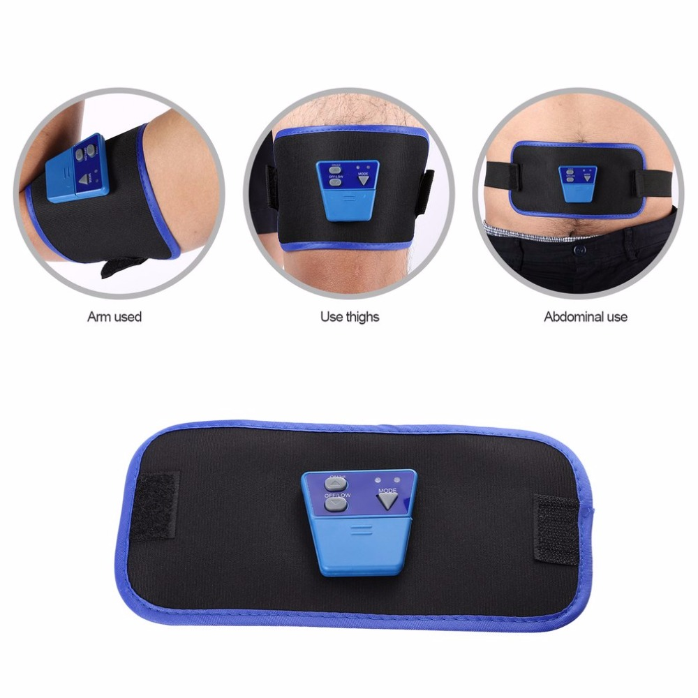 Health Care Slimming Body Massage belt AB Gymnic Electronic Muscle Arm leg Waist Massager Belt best selling