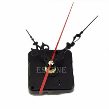 Hot Chic Quartz Clock Movement Mechanism Repair Hand DIY Tool Kit Red