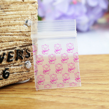 300pcs 2.5x3cm Zip Lock Bag Clear Poly Bag Recyclable Mini Plastic Bag Cute Jewelry Findings Earrings Beads Gift Packaging Bags