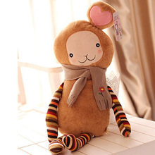 1m The cherish ball head loving girl love girl doll pillow doll plush toy birthday present of girls