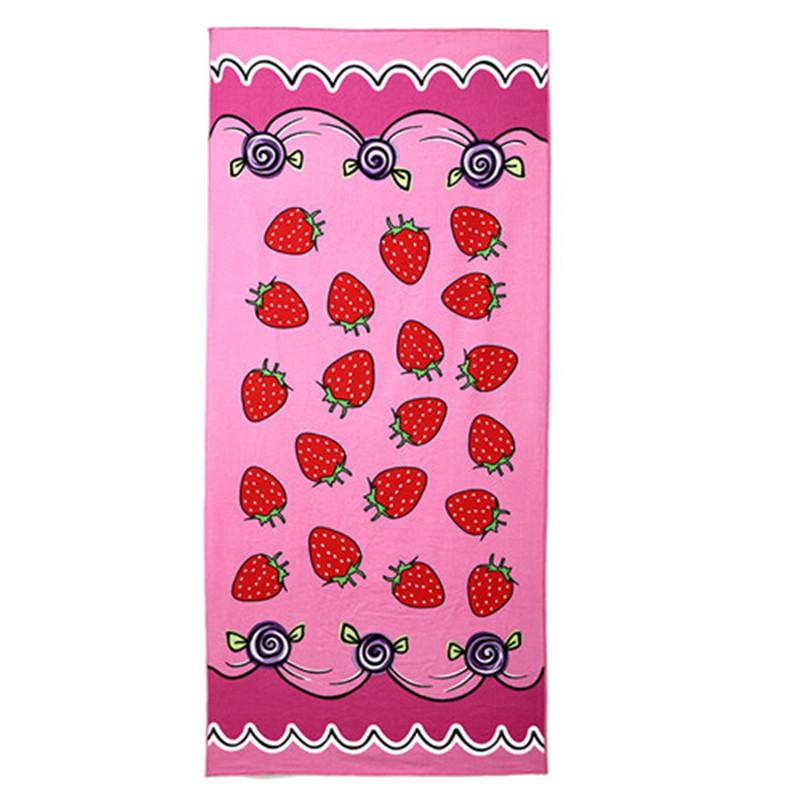 Micro Fiber Printed Beach Towel 140*70cm 20