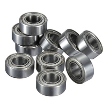 10pcs MR105 MR105ZZ Metal Sealed Shielded Miniature Mini Bearing Ball 5 x 10 x 4mm Deep groove ball bearings