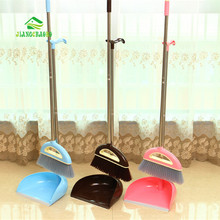 Non-Slip Handle Clean Sweep The Floor The Broom Suit Stainless Steel Superfine Fiber Broom Set(China)