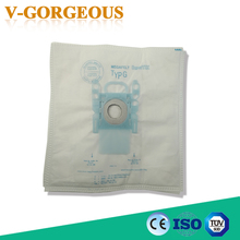 10Pcs/Lots Vacuum Cleaner G Type Cloth Dust Bags Type G Fit For Bosch & SIEMENS BSG6 BSG7 BSGL3126(China)