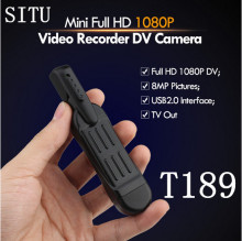 Mini Camera T189 Mini DV Camera HD 1080P 720P Micro Pen Camera Video Voice Recorder Mini Camcorder Camara Digital DVR Cam(China)