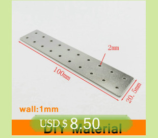 Aluminium Sheet AL Plate DIY Material for Model Parts Accessories DIY Car Frame Metal for Vehicles Boat Construction Soft Easy