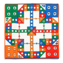 New Board Games Ludo Chess Flying Airplane Carpet Play Mat Educational Learning Games Entertainment with Buddy/Family Best Gifts(China)