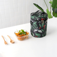Portable Travel Picnic Storage Bag Outdoor Insulated Thermal Lunch Bag Food Organizer Tote Shoulder Bag(China)
