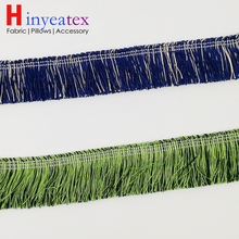 2 colors Cushion Cover Fringe Blue Green Lace Trimming For Sofa Decorative Interior Throw Accessories Sell by Bale(10 meters)(China)