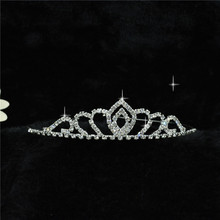 H:HYDE Wedding Bridal Bridesmaid Tiara Crown Headband Girls Love Crystal Rhinestone Jewelry hair Accessories Bride Head jewelry