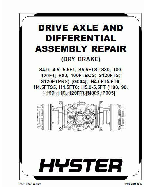 Hyster  Electric Motor Narrow Aisle Forklift Trucks Repair Manuals 2013<br><br>Aliexpress