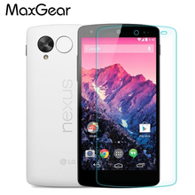 Retail Nexus 5 Ultra-thin 2.5D Premium Tempered Glass Anti-shatter Screen Protector Film For Google LG Nexus 5 E980 panel(China)