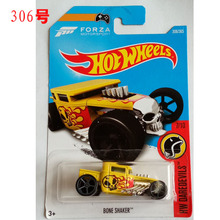New Arrivals 2017 N Hot Wheels 1:64 yellow Bone Sharker Metal Diecast Car Models Collection Kids Toys Vehicle For Children(China)
