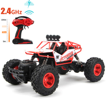 Buy 1:12 RC Cars Big Foot 37*23*20 2.4GHz Remote Control Car Drift Off-road Vehicle 4WD Climbing Speed Racing Charging Car Toy for $73.49 in AliExpress store