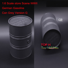 1:6 Scale store Scene WWII German Gasoline Can 1/6 Grey Version G Model Fit 12 Inch Figure Use