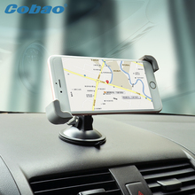 Universal Car Windshield Mount Holder Cobao car phone holder for iPhone SE 6 6s 5S 5C 5G 4S MP3 iPod GPS Samsung Galaxy note(China)