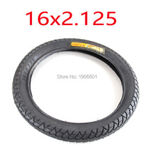 Motorcycle tires 16X2.125 bicycles electric vehicle lithium battery tube tire set
