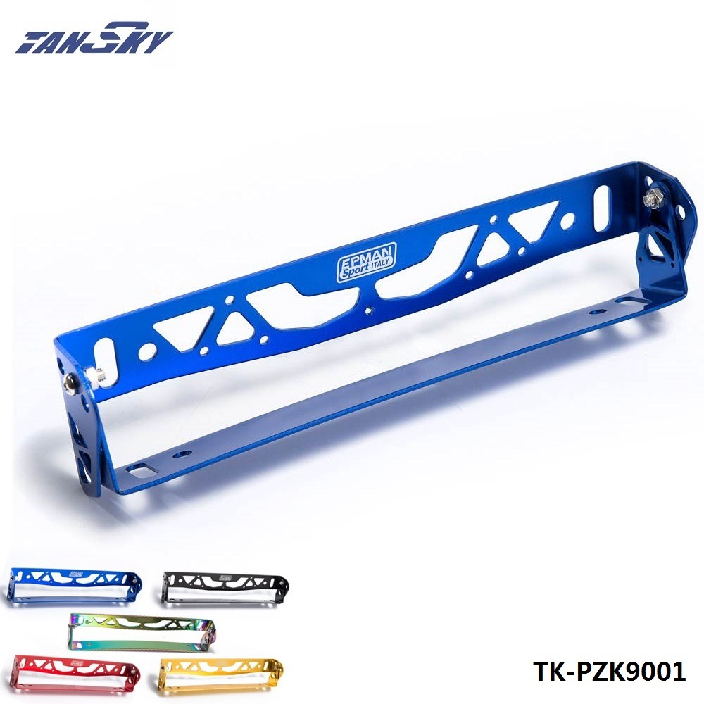 Car-Styling Aluminum Adjustable Racing License Plate Frame Tag Holder For BMW For VW For Ford TK-PZK9001