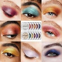 12 Color Single Glitter Wet Jelly Eyeshadow Highlight Cream Pigment Glitter Liquid Eye Makeup Palette Eyeshadow Maquillage TSLM2(China)