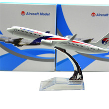 MALAYSIA AIRLINES SYSTEM BERHAD Boeing 737 800 16cm - malaysia airline alloy metal model souvenir model aircraft plane model(China)