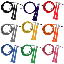 NEW Steel Wire Skipping Skip Adjustable Jump Rope Crossfit Fitnesss Equimpment Exercise Workout 3 Meters