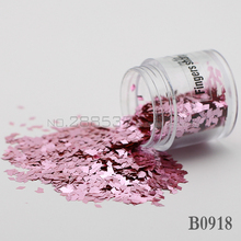 2017 diamond False Nails Toes decorative sequins DIY Lovely pink Shine metal mirror texture 3D Slice canned 2mm B0918