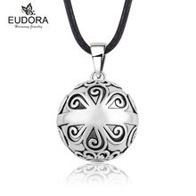 Eudora Pregnancy Ball Jewelry Chime Bola Mexican Ball Belly Musical Sound Pendant Harmony Bola Angel Caller Pendants Necklace