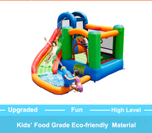 YOU-TOYS Inflatable bounce Slide Water Park Summer Swimming Pool with big water Gun Bounce House for Kids water-spray trampoline(China)