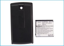 Battery For HTC For Touch Diamond P3051, P3701, P3702, For Victor (1800mAh) Extended back cover(China)
