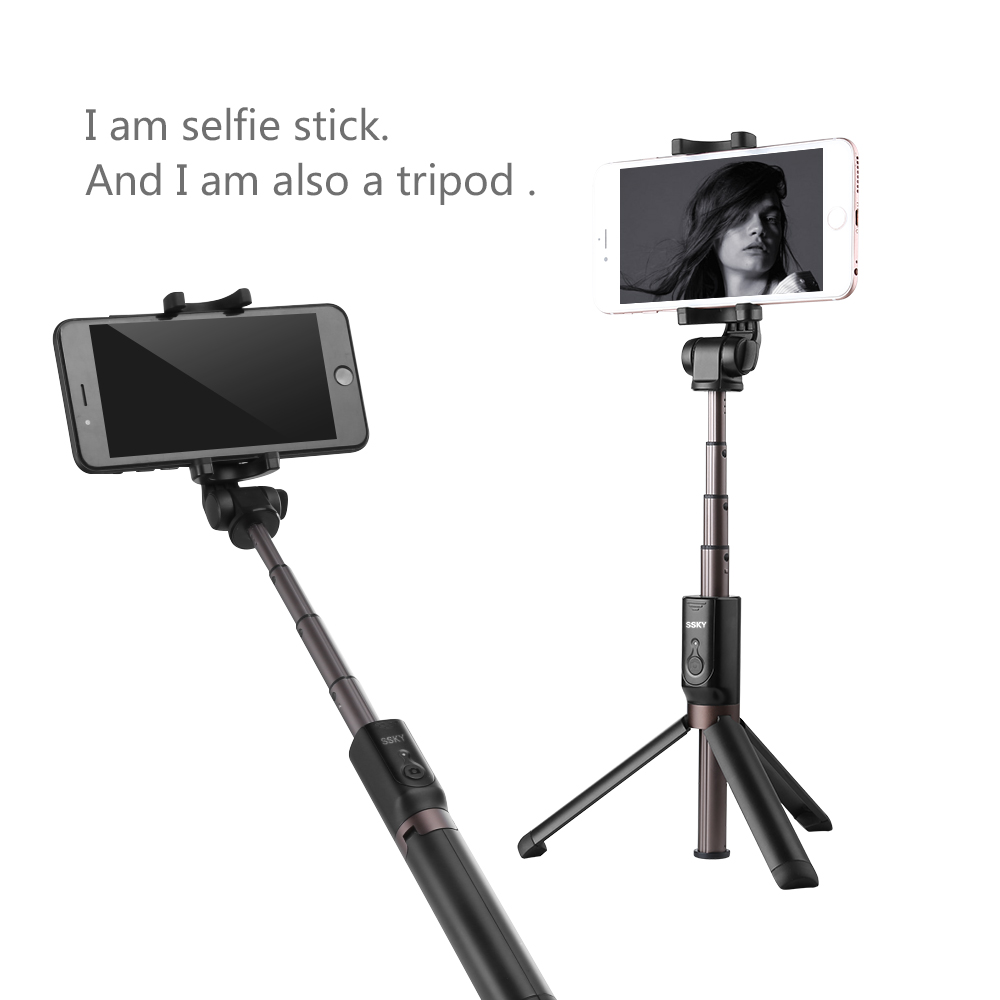 Selfie Stick Tripod for iPhone 8