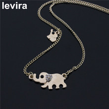 livera New Fashion Elephant Necklace Elegant Animal Alloy Necklace Simple Friendship Gift Necklace For Women Personality Jewelry