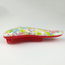 High Quality Fashion combs Detangling Handle Shower Anti-Static tangle Hair Brush Comb Styling hair brushes Tamer Tool