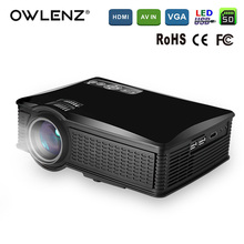 OWLENZ 1500 Lumens SD50 LCD Mini Projector Home Theater Movie Multimedia Video LED Proyector HD Projectors Beamer HDMI USB AV