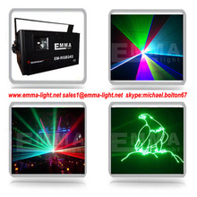 2000mW advertising laser projector/outdoor laser logo/party play of light laser