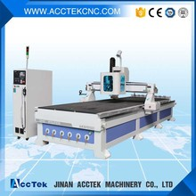 AKM1550C Good price servo motor cnc router 2030 with atc wood design machine for wood kitchen cabinet