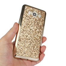 Luxury Glitter Bling Case For Samsung Galaxy J3 (2016) SM-j320f J320H j320 J36 j320FN Phone Cases Soft Silicon Cover Capa fundas