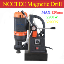 120mm NCCTEC Core drill Magnetic Drills NMD120C | 4.8'' Metal MAGNETIC Drilling Machine | 2200W Factory Outlet(China)