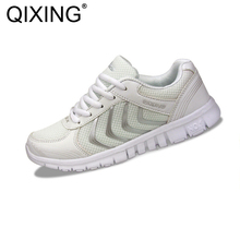 Men Women Running Shoes Light Sport Jogging lover sneakers for Men women Sneakers breathable cheap sport trainer(China)