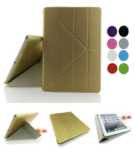 High Quality Smart Case Cover For iPad Air 1 / Air2 Retina ,Ultra Slim Designer Tablet PU Leather Cover For Apple iPad