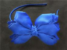 "Free Shipping 14pcs BLESSING Happy Girl Hair Accessories Woven Headband 4.5-5"" Angel Wing Bow"