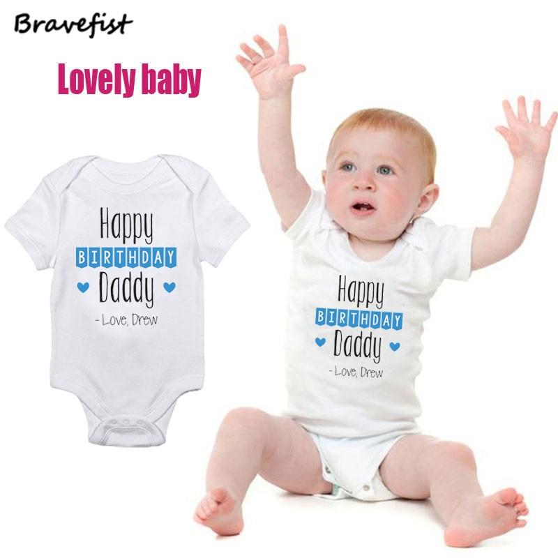 I LOVE MY DADDY Baby Bodysuit Babygro Vest 0-24mths