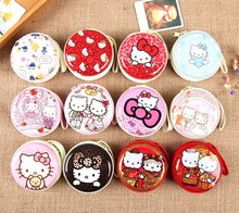 2017 12colors hello kitty cute cartoon collection bags kids mini Pendant toy bags mini 7cm  children best birthday festive gifts