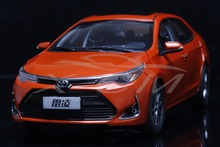 Diecast Car Model 2017 New Toyota Levin Corolla 1:18 (Orange) + SMALL GIFT!!!!!