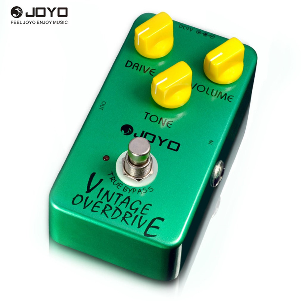 JOYO JF-01 Vintage Overdrive Analog Delay Guitar Stompbox Integrant Pedals For Exquisite Minimizes Tone Loss Overdrive Effector<br>